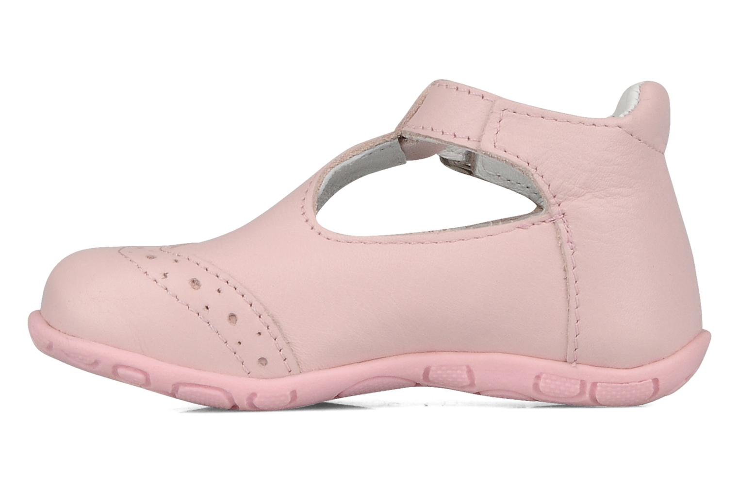 Ankle boots GBB Lea Pink front view