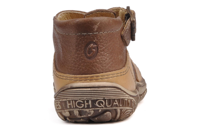 Boots en enkellaarsjes GBB Loic Bruin rechts