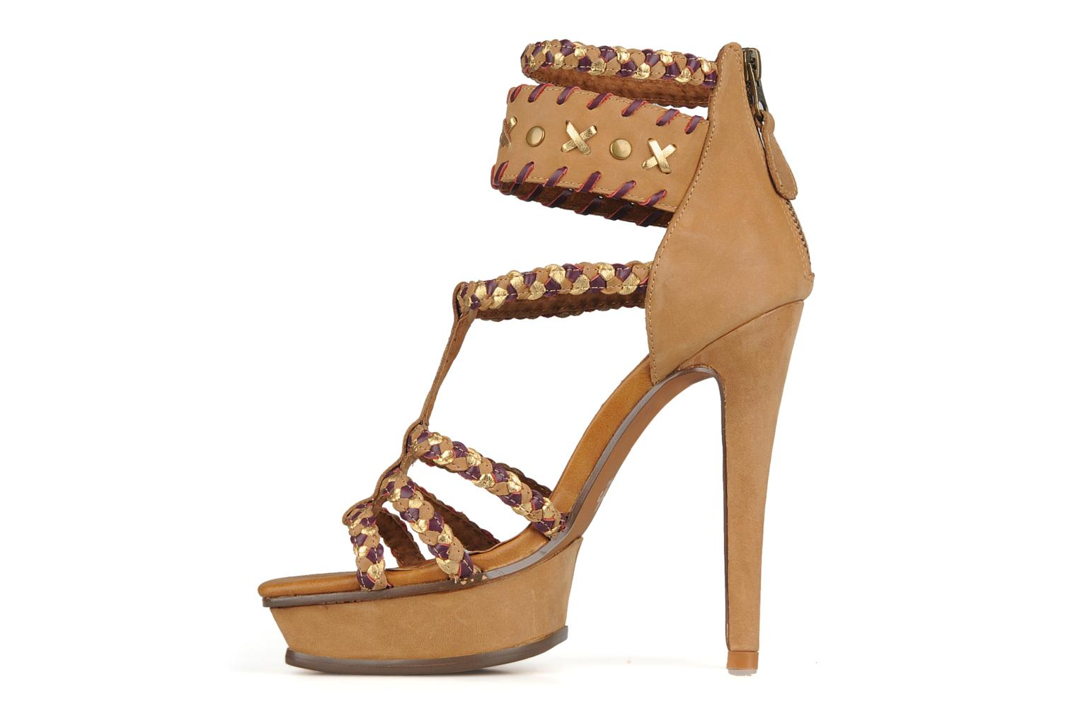 Sandals Friis & company Vaike Beige front view