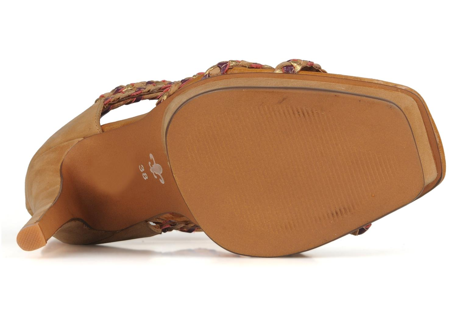 Sandals Friis & company Vaike Beige view from above