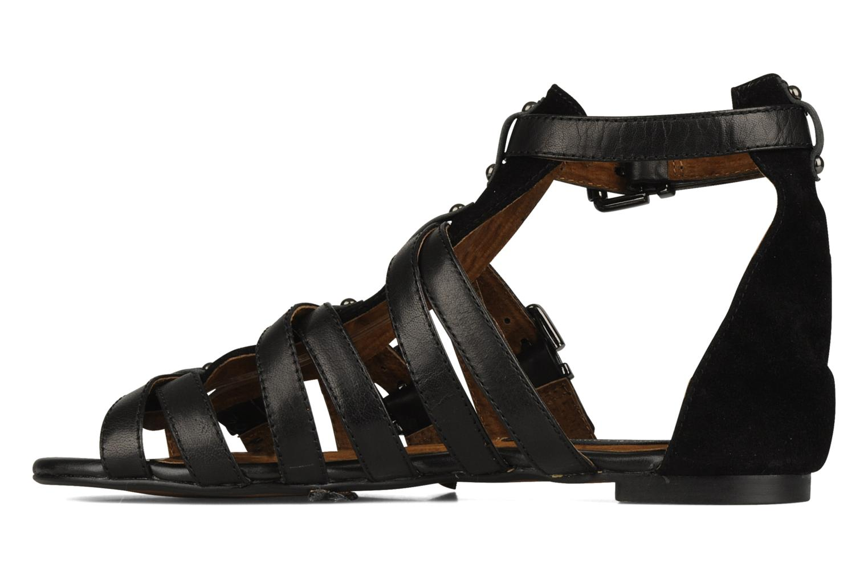 Sandales et nu-pieds Friis & company Varinka Noir vue face