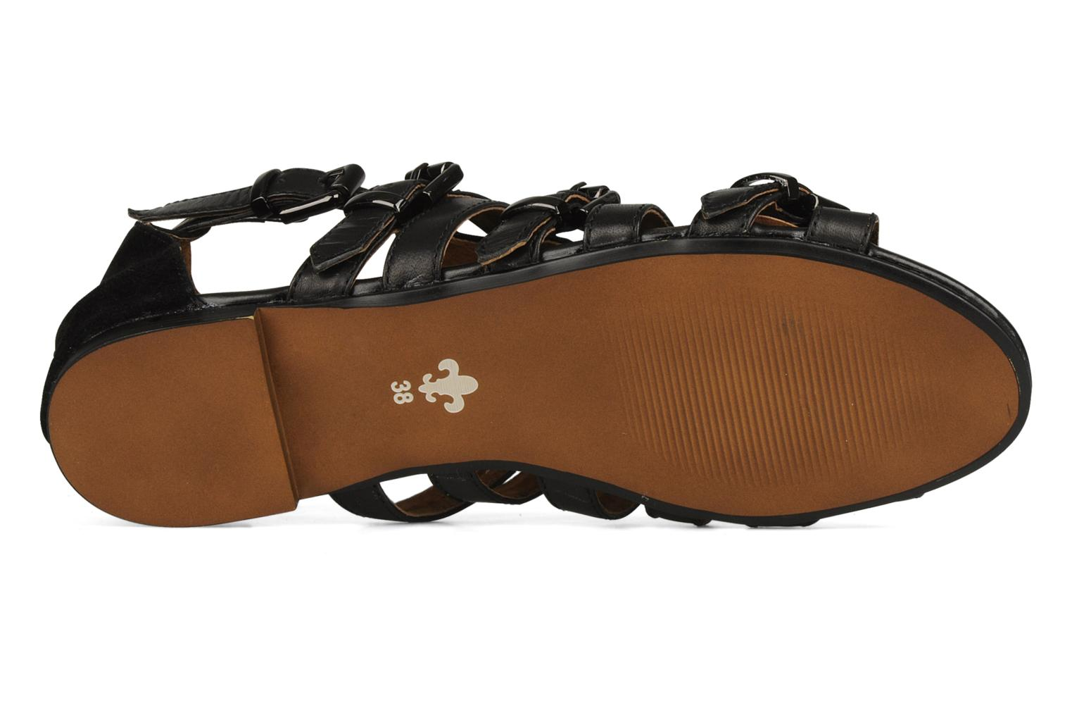 Sandals Friis & company Varinka Black view from above