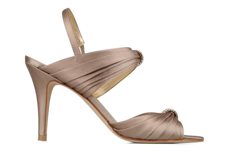 Sandales et nu-pieds Miezko Rebecca Beige vue derrière