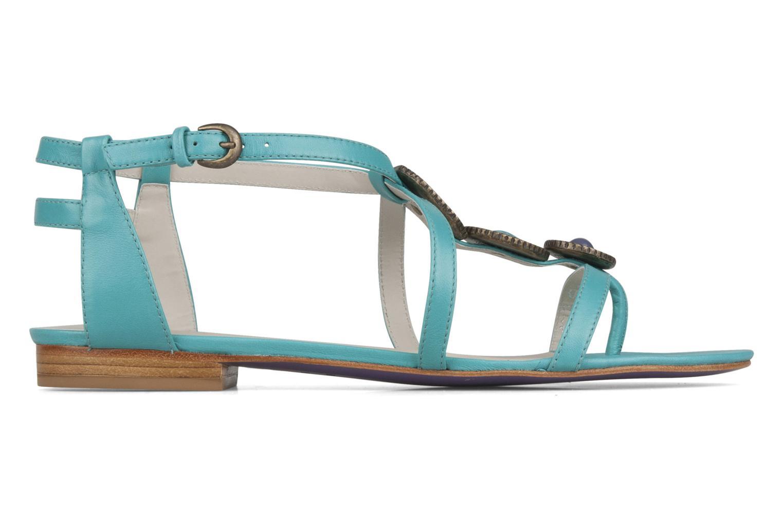 Sandales et nu-pieds Miezko Katilia Bleu vue derrière