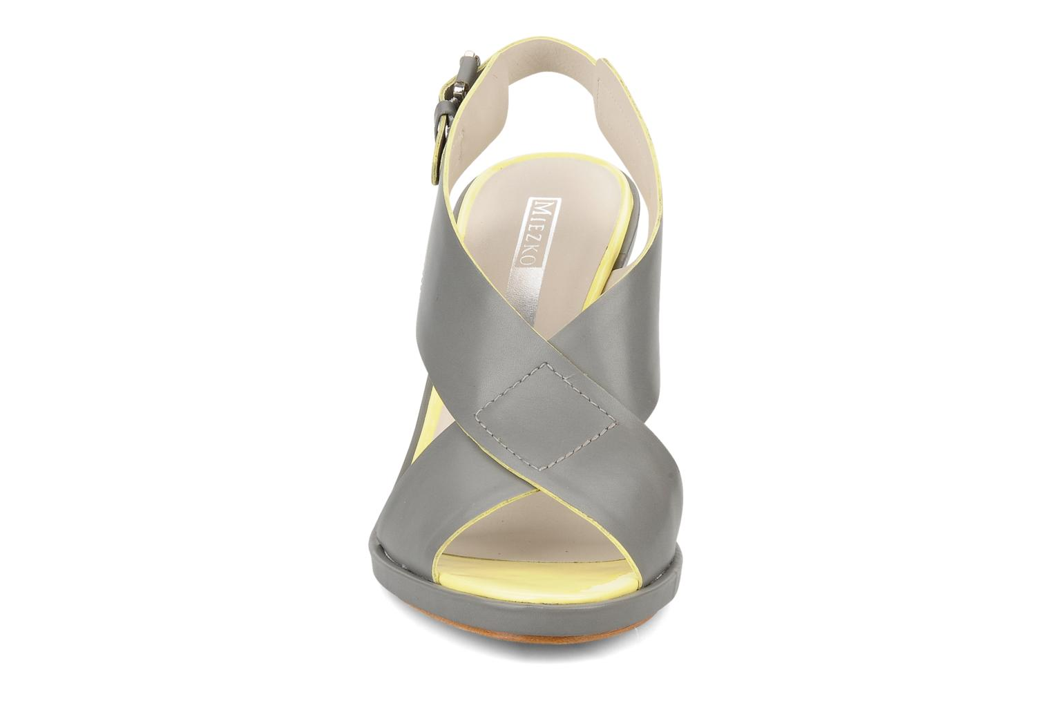 Sandals Miezko Hugalia Brown model view