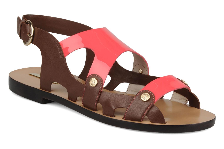 Sandales et nu-pieds Miezko Fluota Marron vue détail/paire