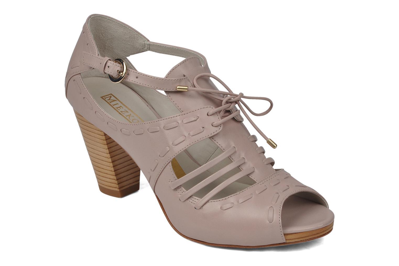 Sandaler Miezko Benka Pink detaljeret billede af skoene