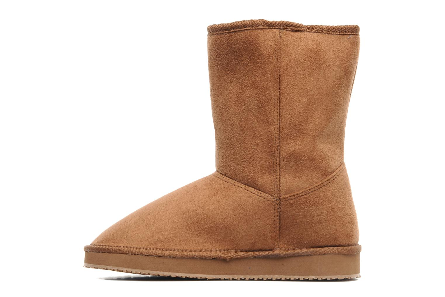 Ankle boots Buffalo Delfina Brown front view