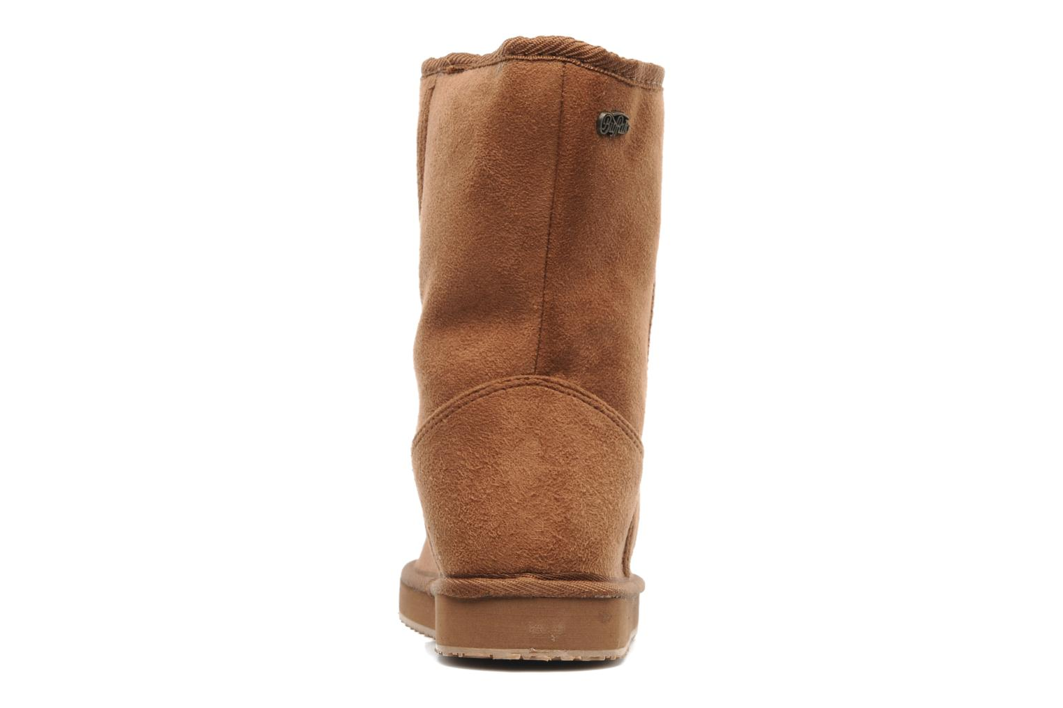 Ankle boots Buffalo Delfina Brown view from the right