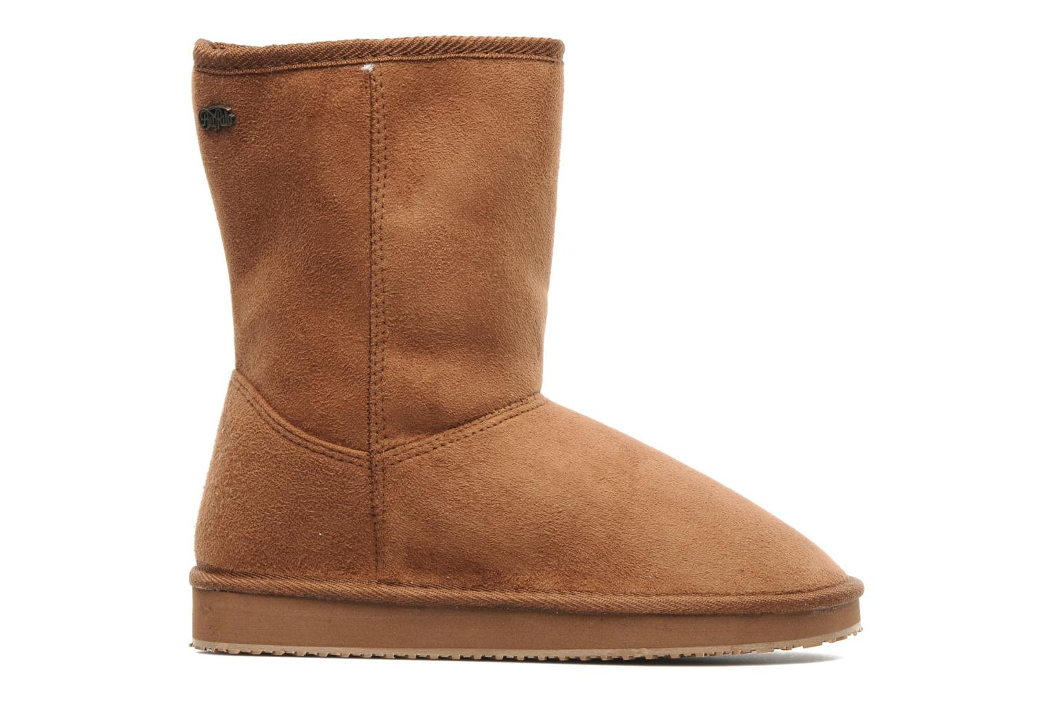 Ankle boots Buffalo Delfina Brown back view