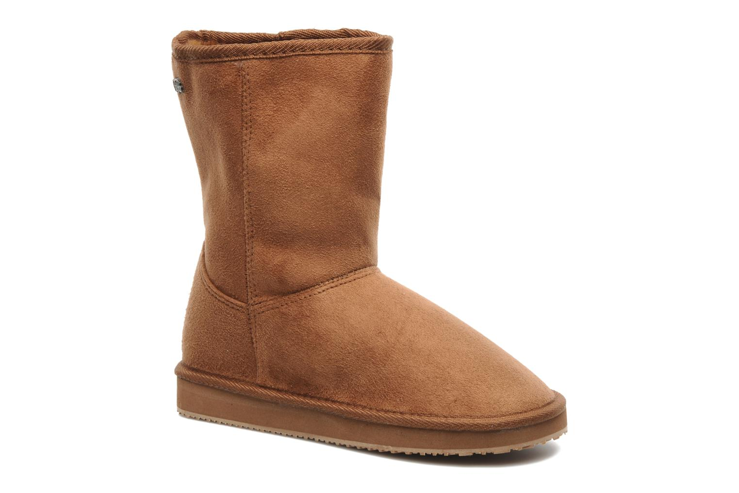 Ankle boots Buffalo Delfina Brown detailed view/ Pair view