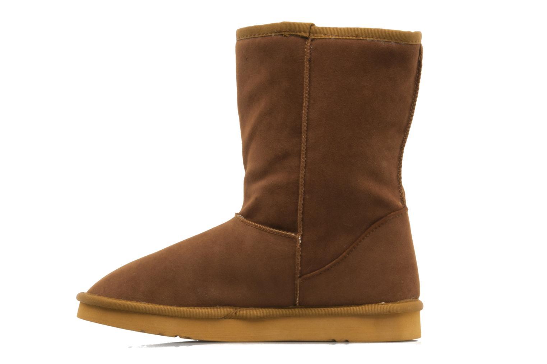 Bottines et boots Buffalo Delfina Marron vue face
