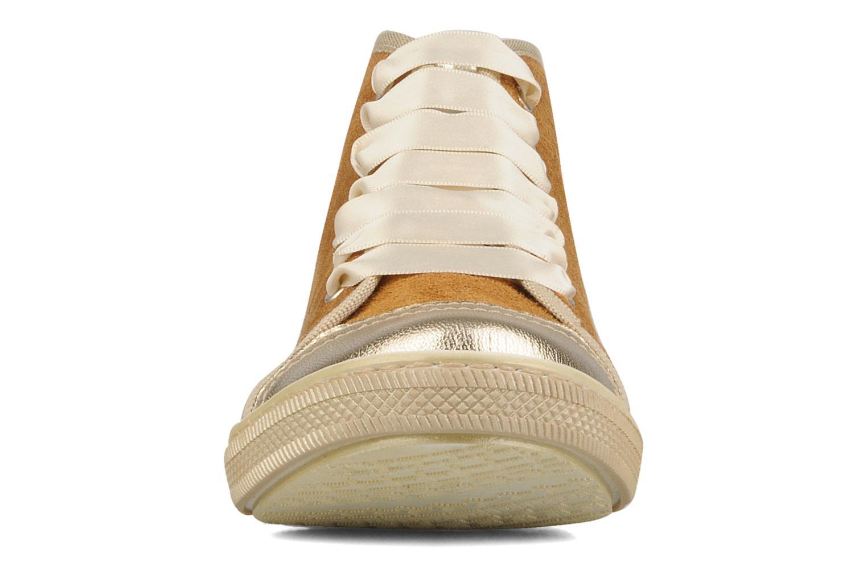 Baskets Hip Heidi Or et bronze vue portées chaussures