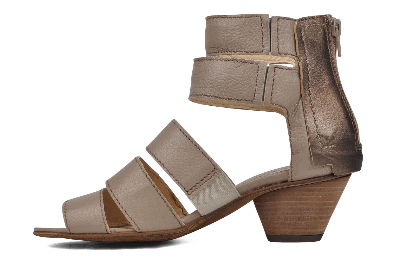 Sandals Dkode Flora Beige front view