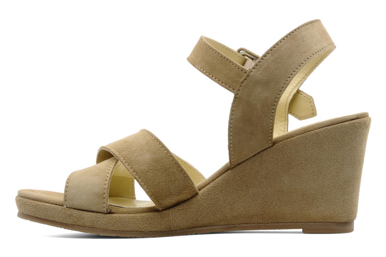 Sandalen Perlato Paros Beige voorkant