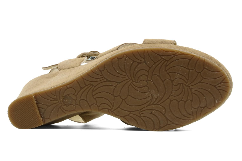 Sandalen Perlato Paros Beige boven