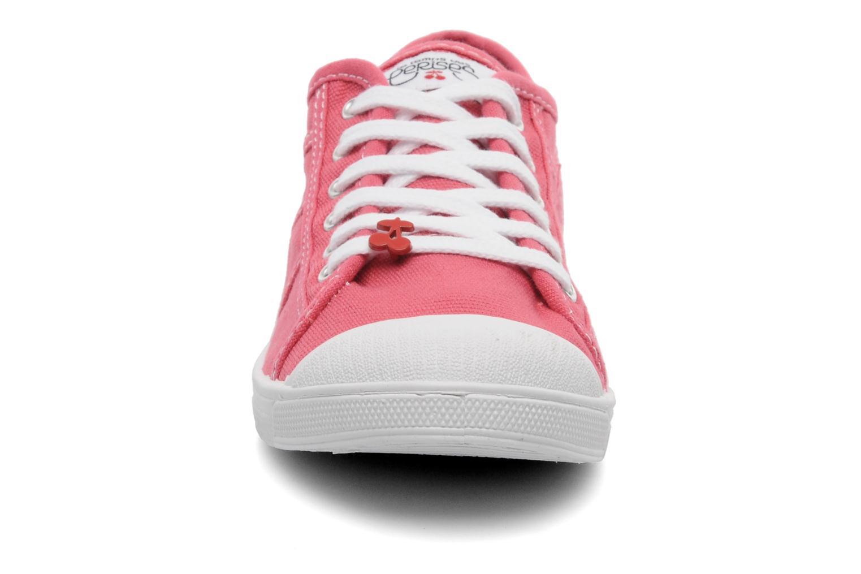 Baskets Le temps des cerises Basic 02 Rose vue portées chaussures