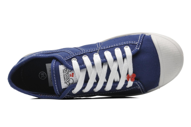 Sneaker Le temps des cerises Basic 02 blau ansicht von links