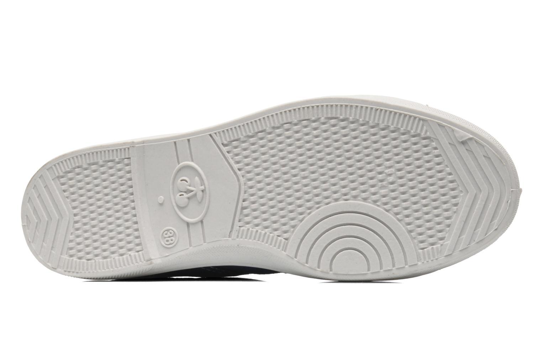 Sneakers Le temps des cerises Basic 02 Blauw boven