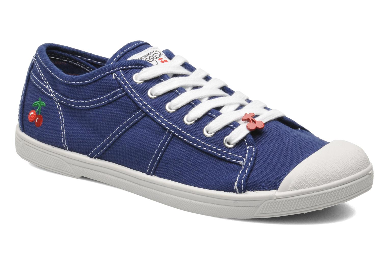 Sneaker Le temps des cerises Basic 02 blau detaillierte ansicht/modell