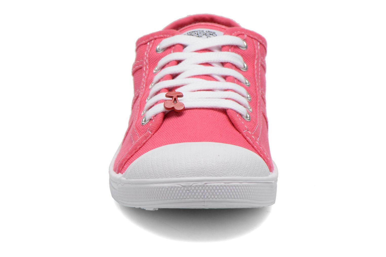 Sneaker Le temps des cerises Basic 02 rosa schuhe getragen