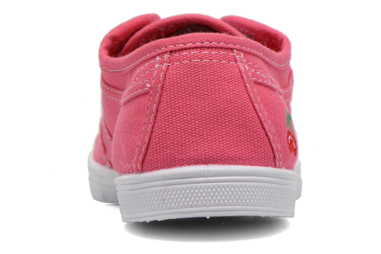 Sneakers Le temps des cerises Basic 02 Roze rechts