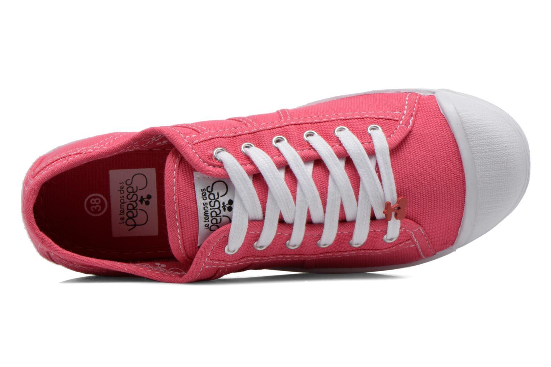 Sneaker Le temps des cerises Basic 02 rosa ansicht von links