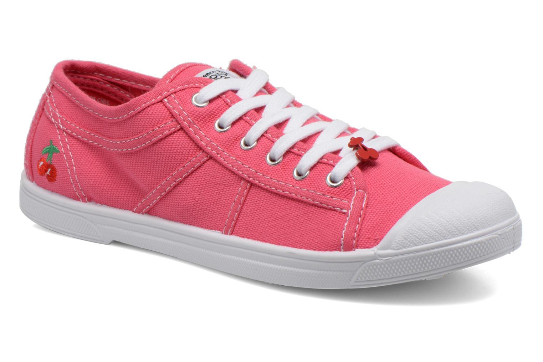 Sneakers Le temps des cerises Basic 02 Roze detail