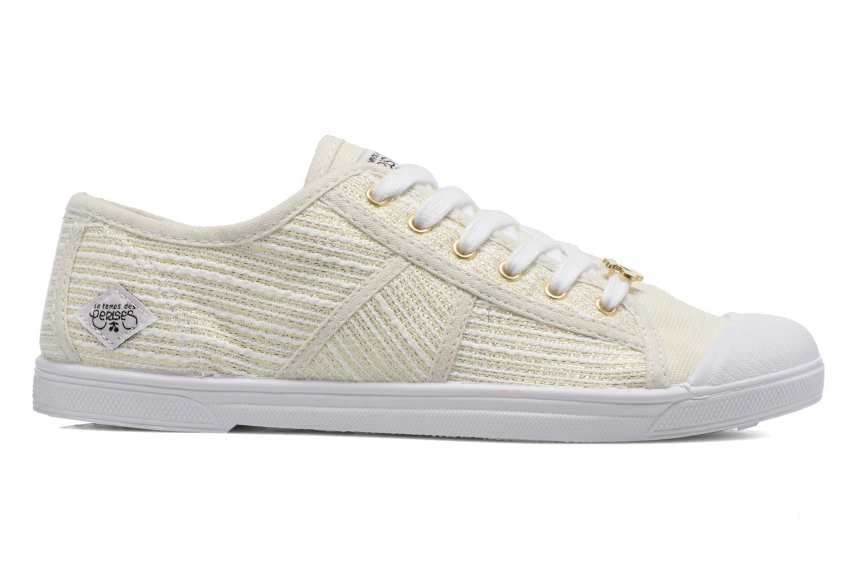 Sneakers Le temps des cerises Basic 02 Wit achterkant