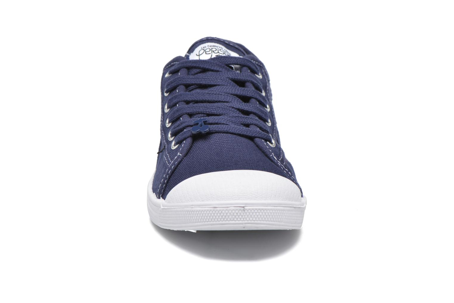 Sneakers Le temps des cerises Basic 02 Blauw model