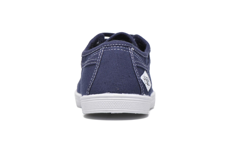 Sneakers Le temps des cerises Basic 02 Blauw rechts