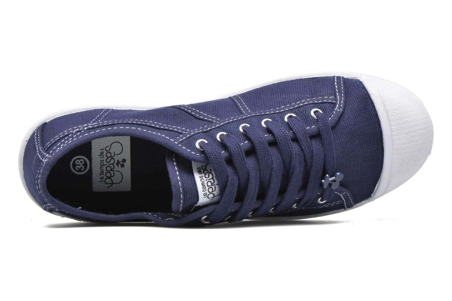 Sneakers Le temps des cerises Basic 02 Blauw links
