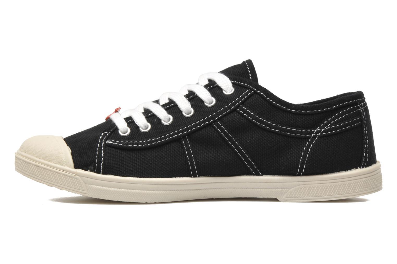 Sneakers Le temps des cerises Basic 02 Zwart voorkant