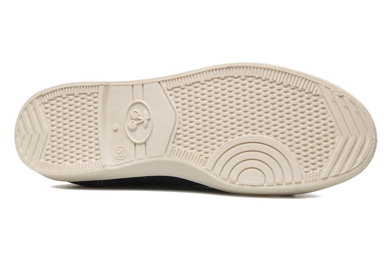 Sneakers Le temps des cerises Basic 02 Zwart boven