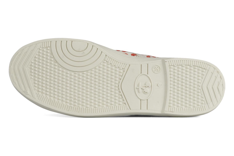Sneaker Le temps des cerises Basic 02 weiß ansicht von oben