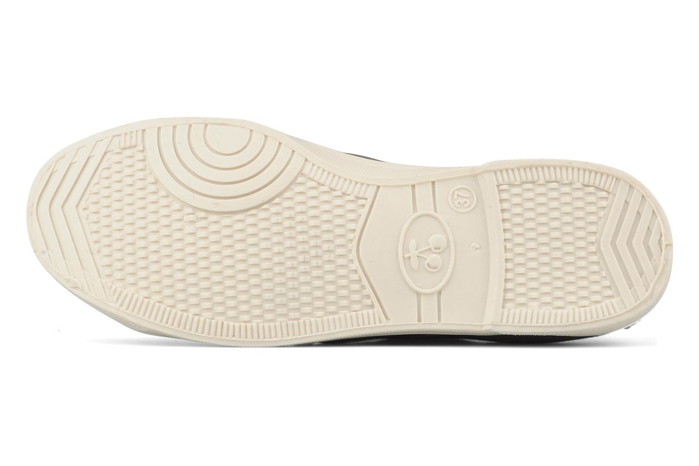 Sneaker Le temps des cerises Basic 02 grau ansicht von oben