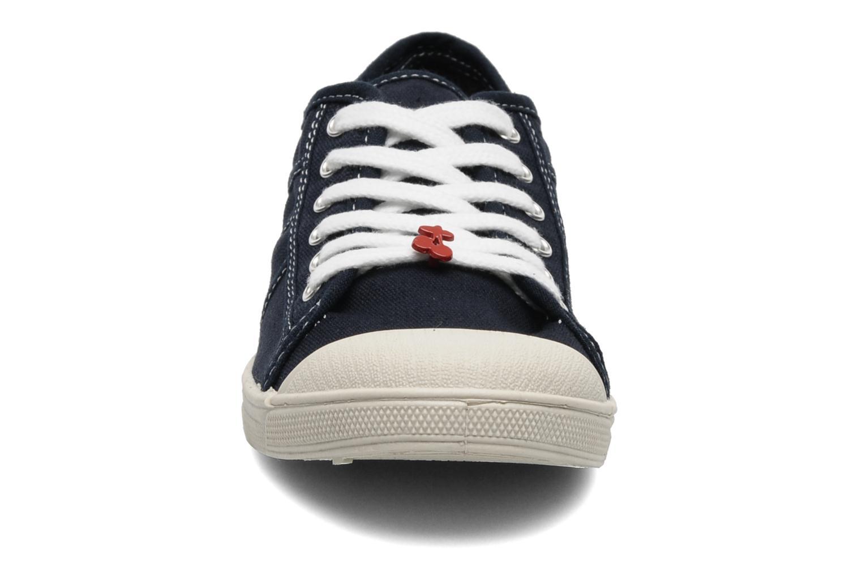 Baskets Le temps des cerises Basic 02 Bleu vue portées chaussures