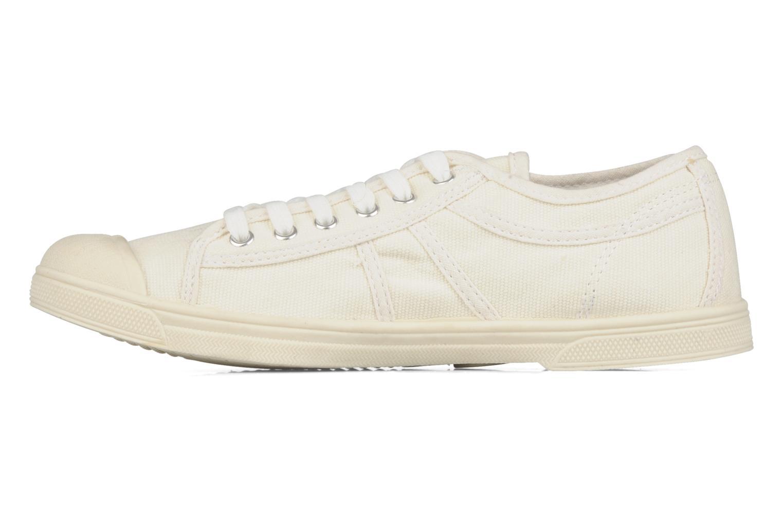 Sneakers Le temps des cerises Basic 02 Beige voorkant