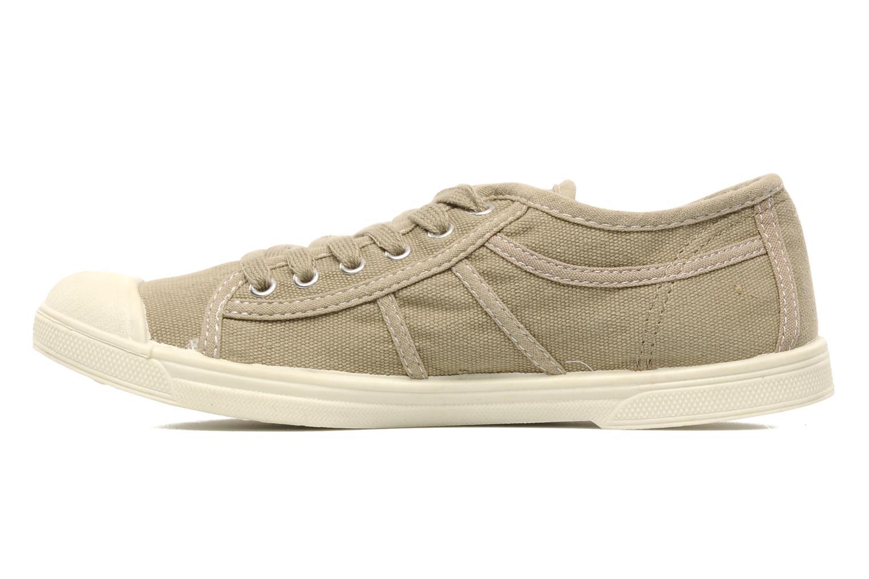 Sneaker Le temps des cerises Basic 02 beige ansicht von vorne