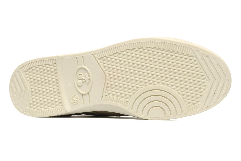 Sneaker Le temps des cerises Basic 02 beige ansicht von oben