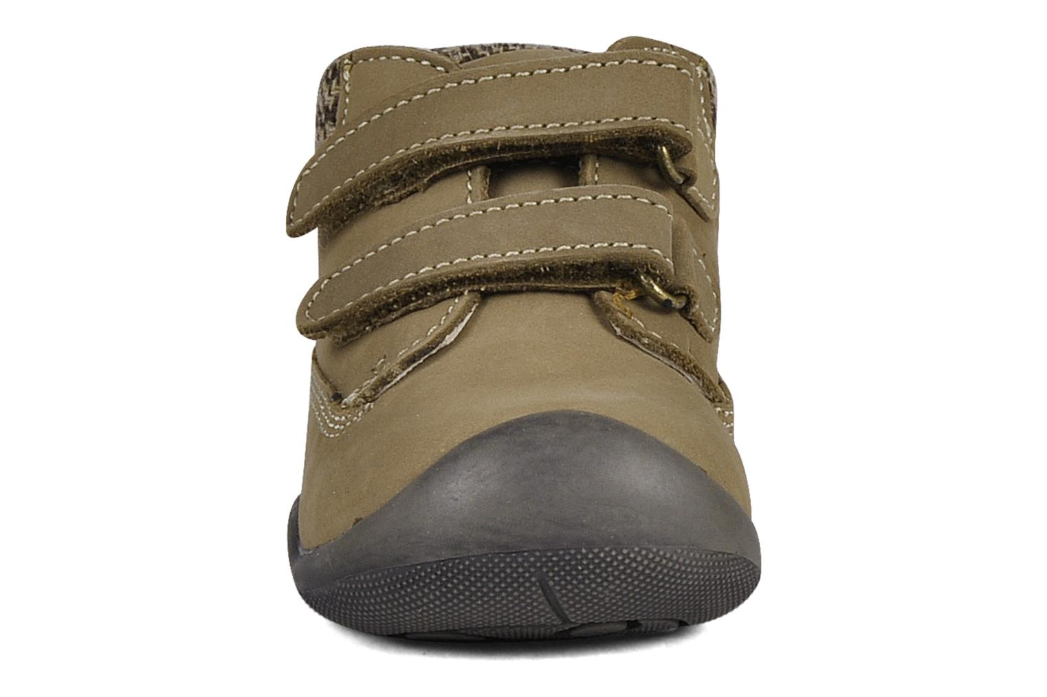 Velcro shoes Chicco Guapito Brown model view