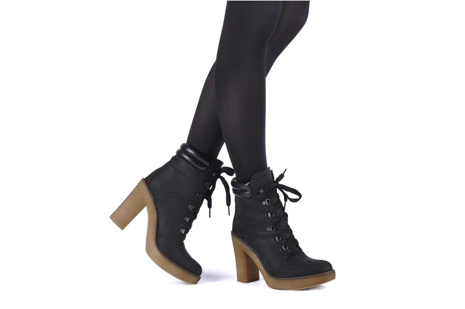 Ankle boots Jonak Galina Black view from underneath / model view