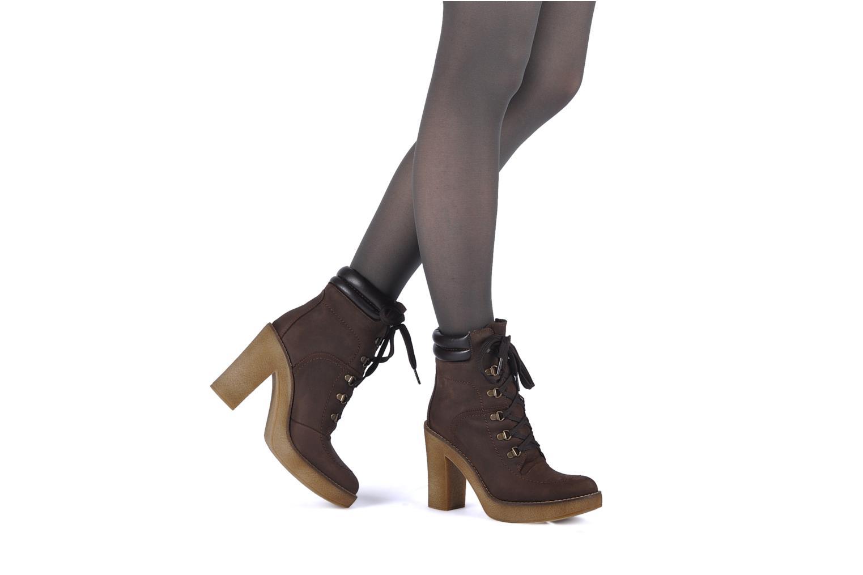 Bottines et boots Jonak Galina Marron vue bas / vue portée sac