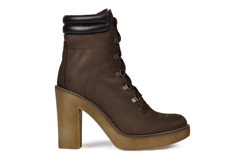 Boots en enkellaarsjes Jonak Galina Bruin achterkant