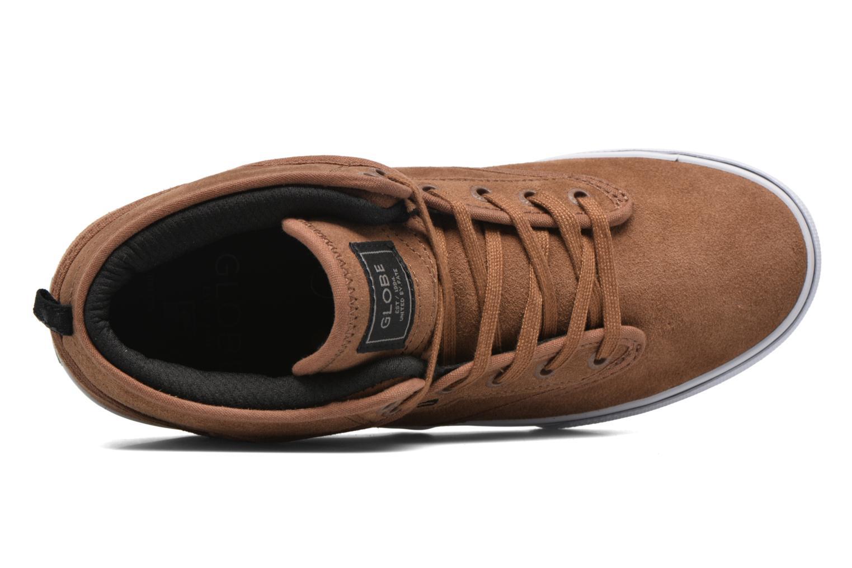 Chaussures de sport Globe Motley mid Marron vue gauche