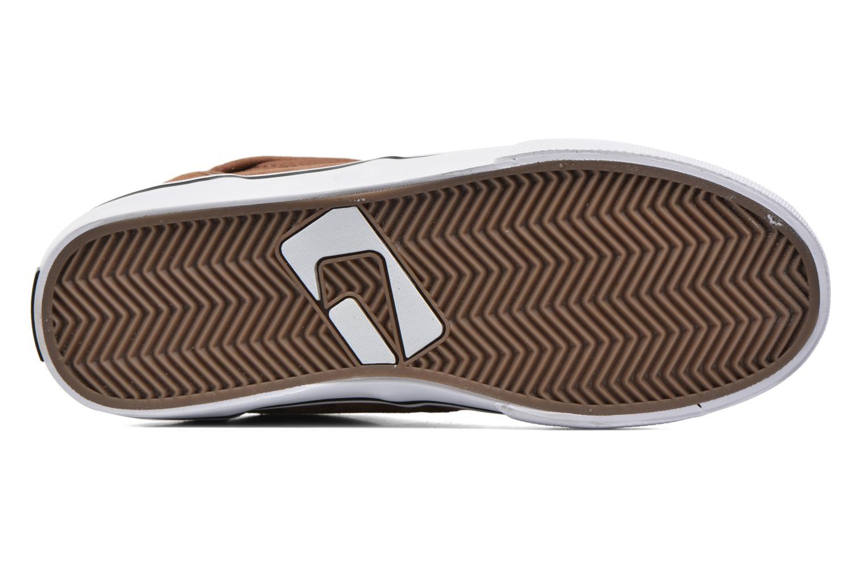 Chaussures de sport Globe Motley mid Marron vue haut
