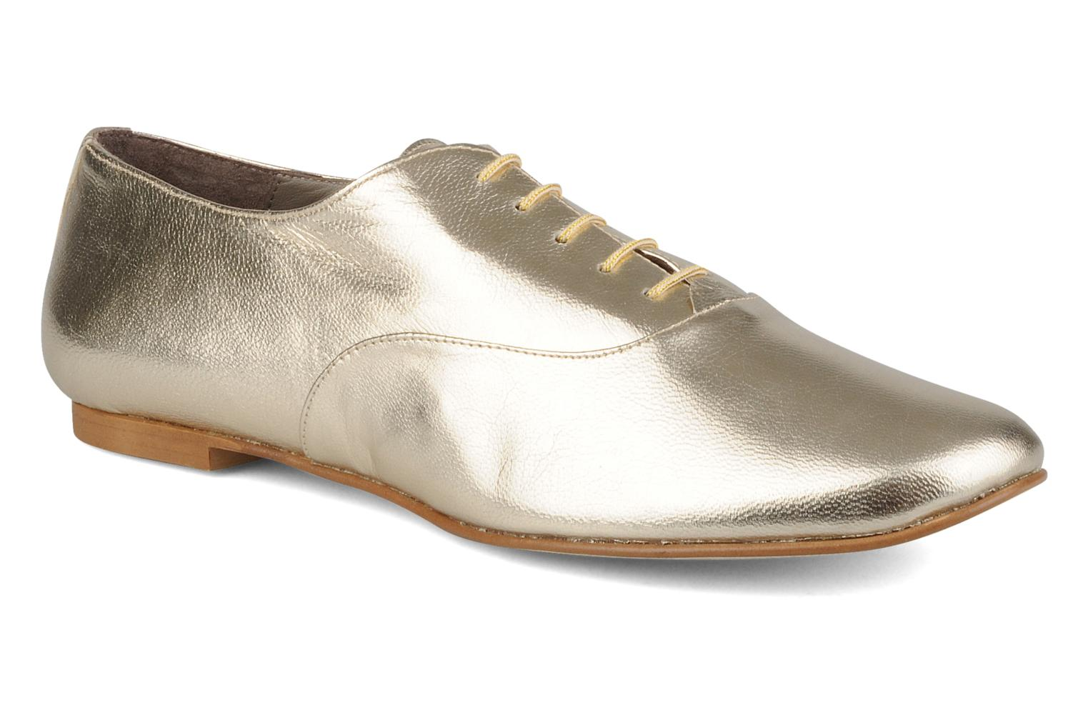 Lace-up shoes Emma Go Juddy Bronze and Gold detailed view/ Pair view