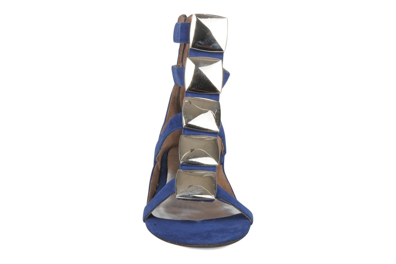 Sandalen JB MARTIN Nolwen blau schuhe getragen