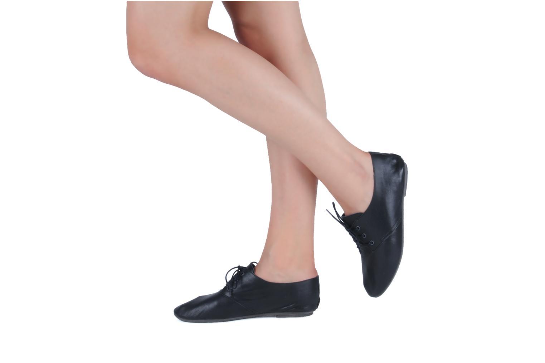 Chaussures à lacets Jonak Dacklo Beige vue bas / vue portée sac