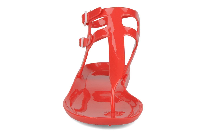 Sandalen Carvela Kink rot schuhe getragen